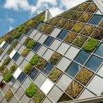 This City Hall In Belgium Is Covered In A Patchwork Of Greenwall Squares