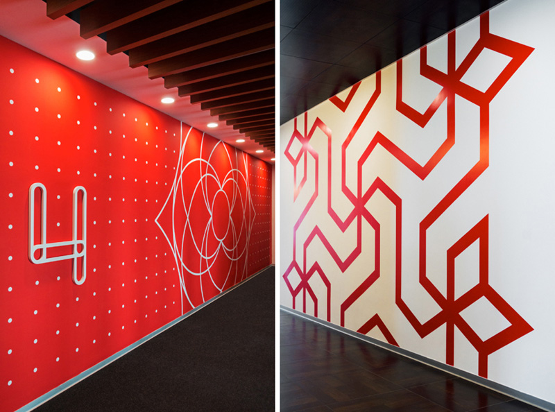 SanDisk Headquarters - Graphic Design by tsk Design