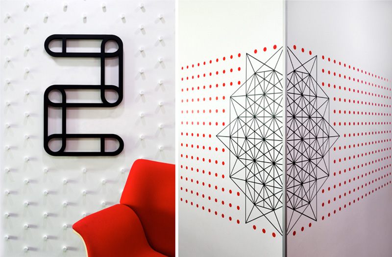 All The Wall Graphics In This Office Were Inspired By