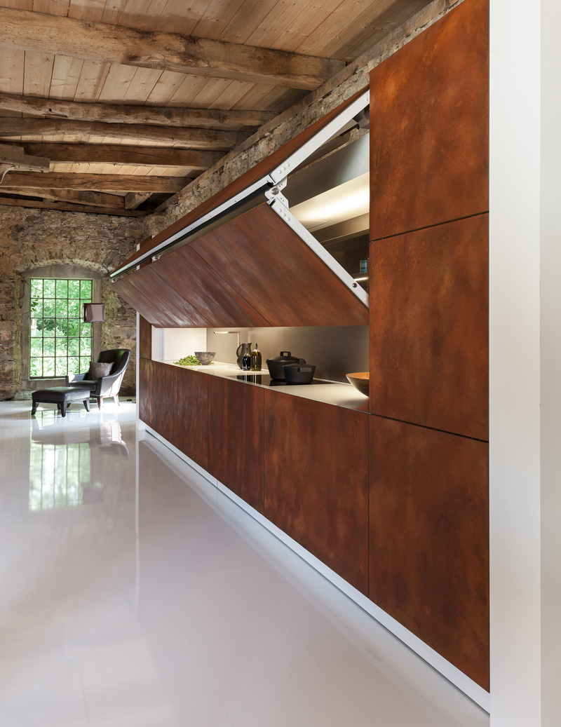 This Kitchen Is Designed To Be Hidden Away At The Push Of A Button