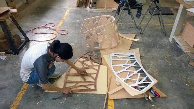The HUG Chair by Yen-wei Chang and Yiwen Su