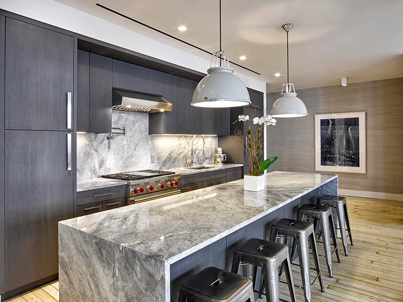 Palette Profile A Kitchen With Deep Greys Quartzite