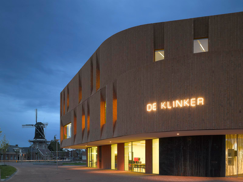 The Klinker Cultural Centre By Atelier PRO
