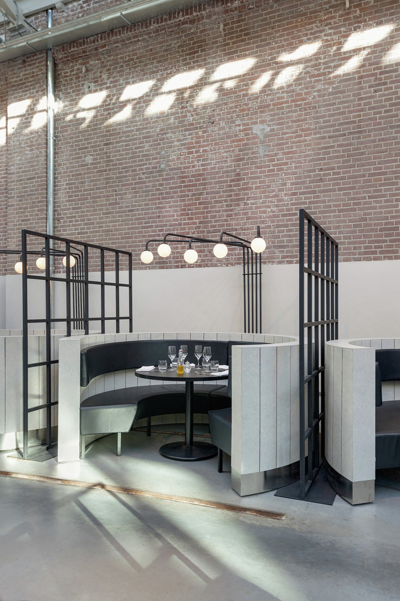 A Former Tram Repair Depot In Amsterdam Was Converted Into A Restaurant