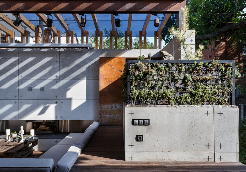 Outdoor Lounge Area by SVOYA Studio