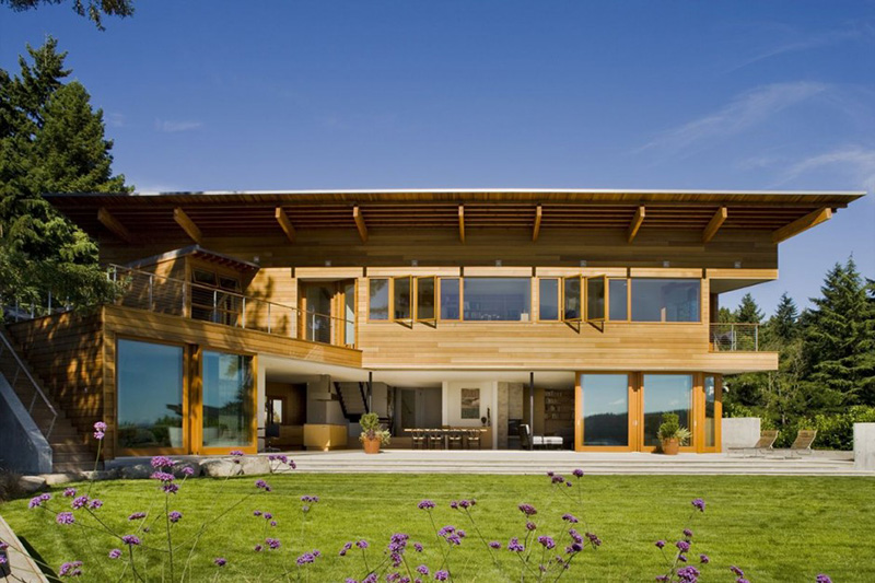 Vote now which pacific northwest house is your favorite for Architects nw