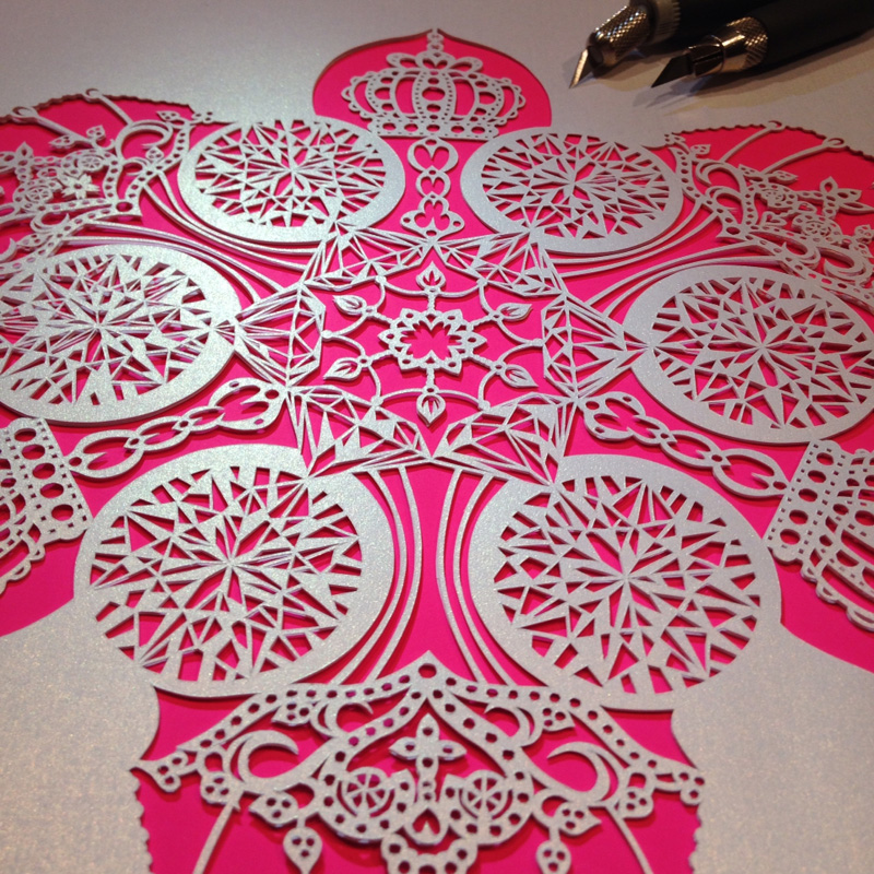 The Intricate Art Of Papercutting By RIU