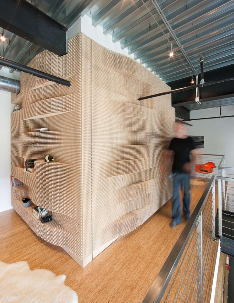 Peg Wall by MERGE Architects