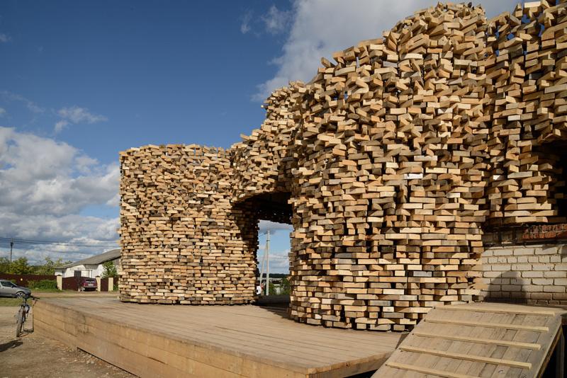 SELPO Pavilion By Nikolay Polissky