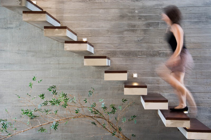 Stairs Without Railings