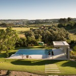 This Swimming Pool Sits Comfortably In The Countryside Of Portugal