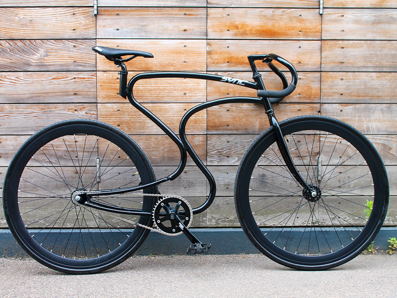 This New Bike Frame Is All About The Curves
