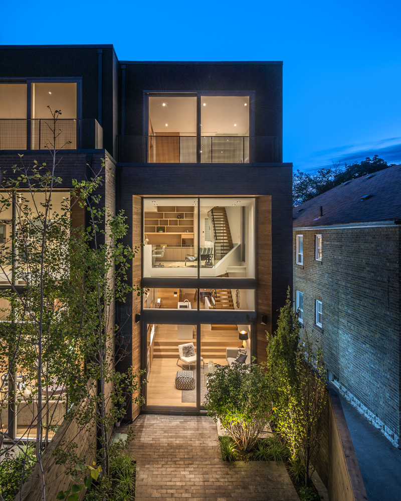 Luc Bouliane Design Two New Homes In Torontos Forest Hill