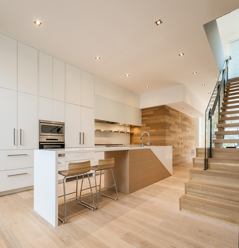Townhouses in Toronto by Luc Boulaine