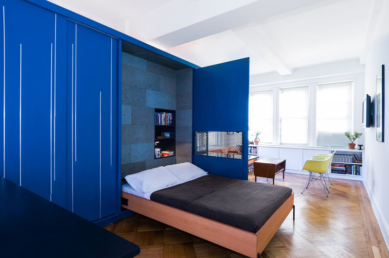 Unfolding Apartment by Michael K Chen Architecture