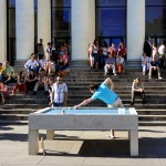 An Architect In France Has Designed A Concrete Pool Table For Public Spaces