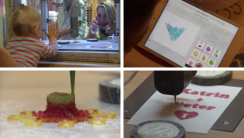 You Can Now Get Custom Candy in Berlin Created By A 3D Printer