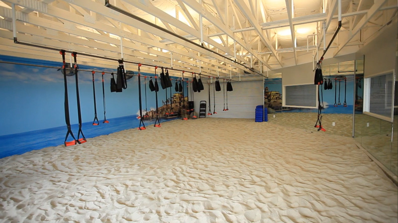 This Gym In California Has Brought The Beach To The Workout Room