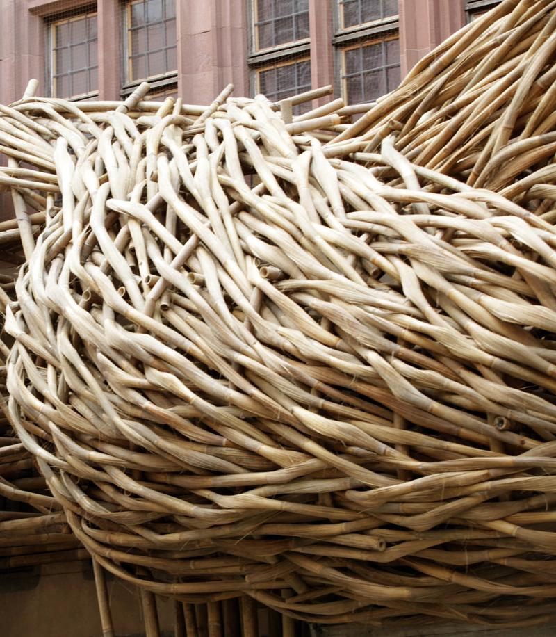 Bamboo Facade by Joko Avianto