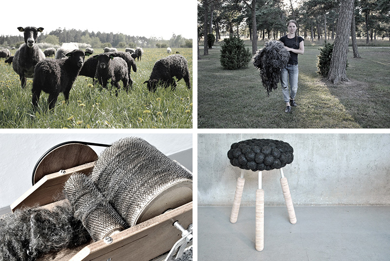 This Is How Hanna Bramford's Black Sheep Stool Was Made