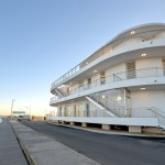 A Nautical Inspired Building Designed For A Marina In France
