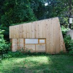This small garden studio was designed as an escape from busy New York life