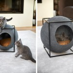 Cat Cocoons Designed To Suit A Contemporary Interior