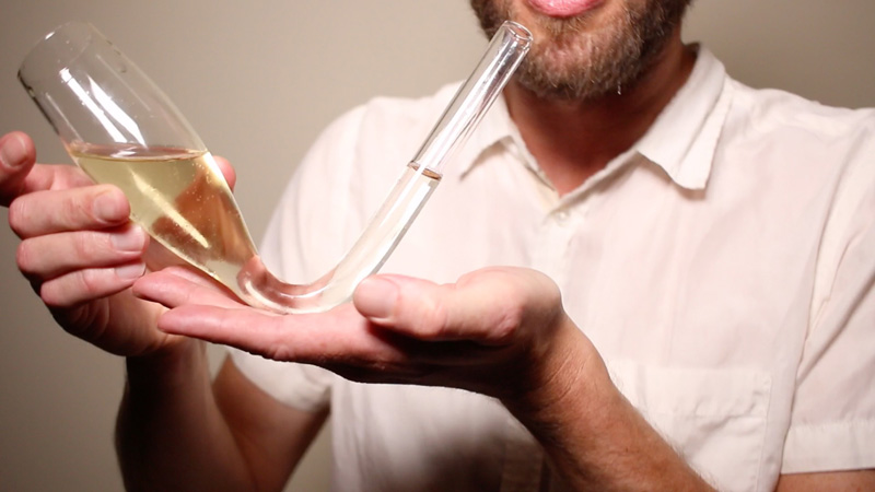 Chambong: A New Way To Drink Champagne