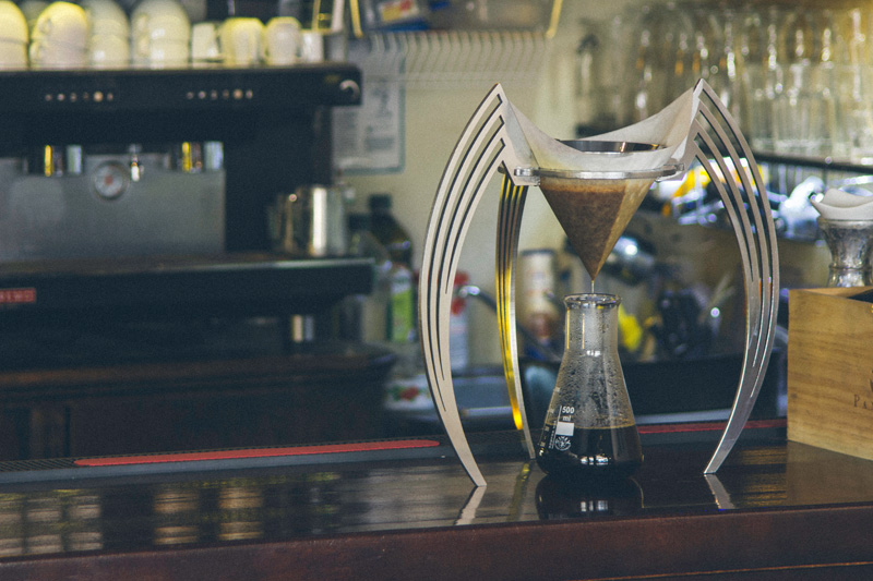 Drip brewing coffee just got dramatically sculptural