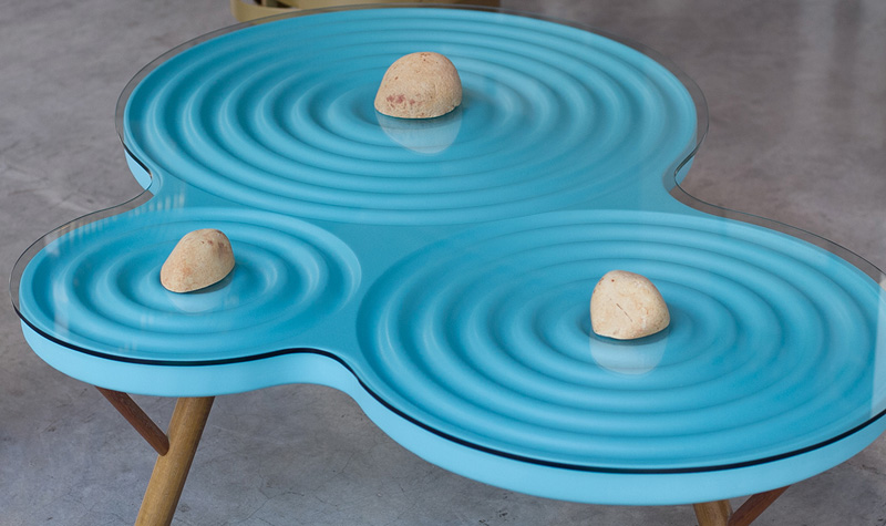 Beau Estudio RIKA Design A Furniture Collection Inspired By The Movement Of Water