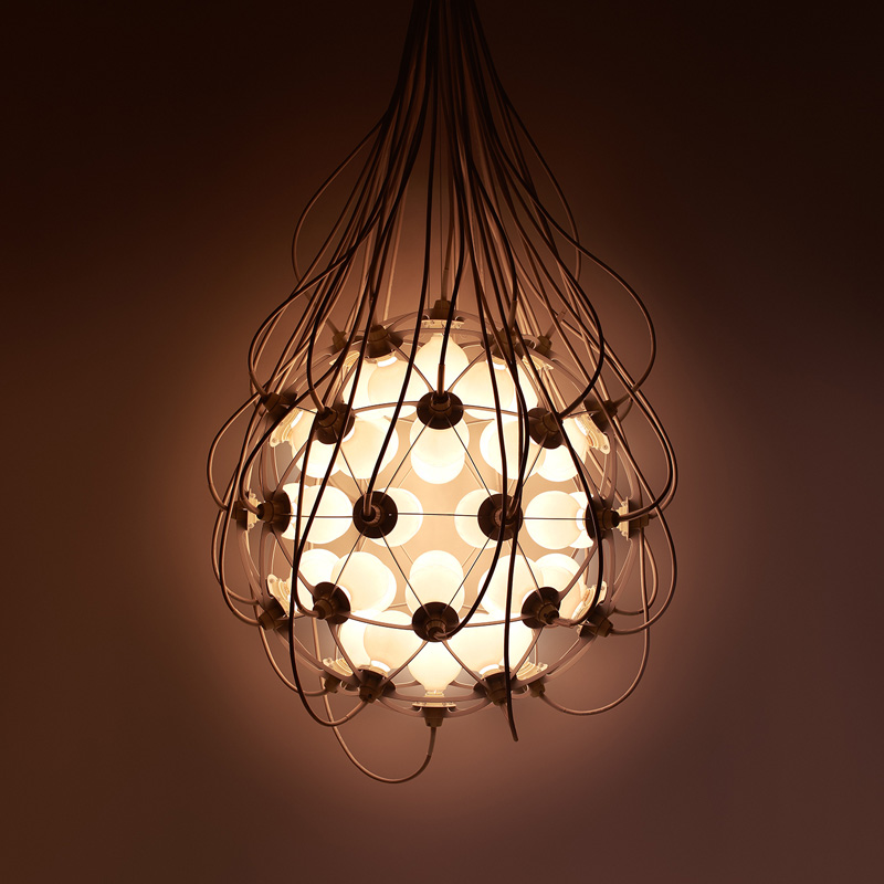 'The Birth', a new lamp by Japanese design studio h220430