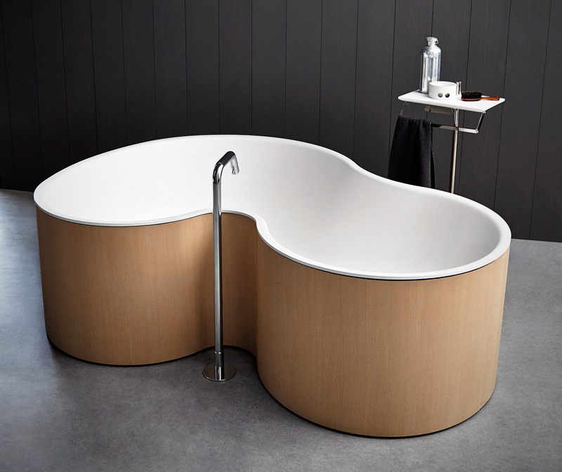 A Curvy Bathtub By Studio Mk27 For Agape