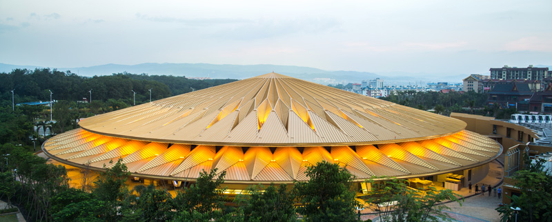 Stufish Entertainment Architects Design Theatre For Water Acrobatics Show