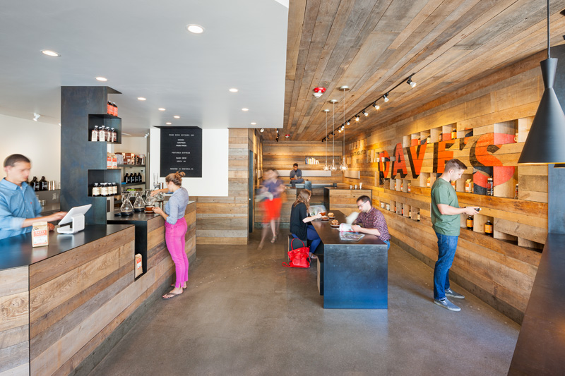 Dave's Coffee by 3six0 Architecture