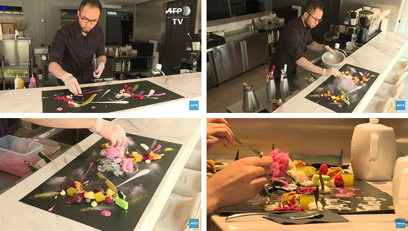 This Restaurant In Hong Kong Only Serves Artistic Desserts