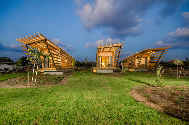 Dor Huts by Ron Shenkin Studio for Architecture & Design