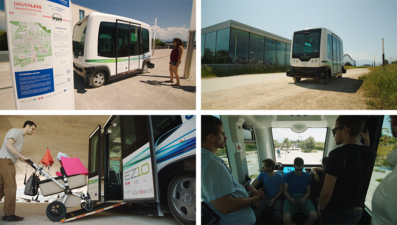 Meet EZ10, The Driverless Electric Shuttle