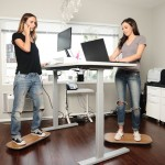 A designer has created a way to keep moving at standing desks