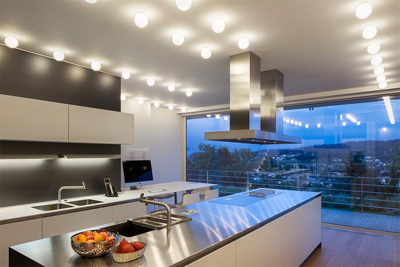 معماری و طراحی داخلی ساختمان ویلایی