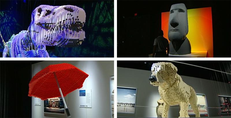 'The Art of the Brick' Exhibition Opens In Cincinnati