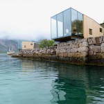 Stinessen Arkitektur design a group of holiday huts in Norway