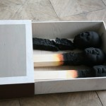 "Artist Wolfgang Stiller's ""Matchstickmen"" Are Hauntingly Captivating"
