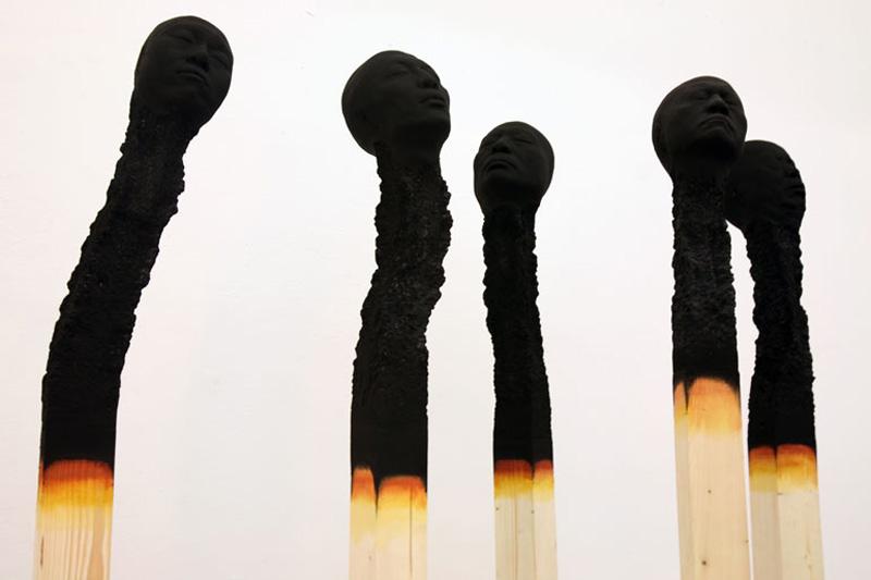 Matchstickmen by Wolfgang Stiller