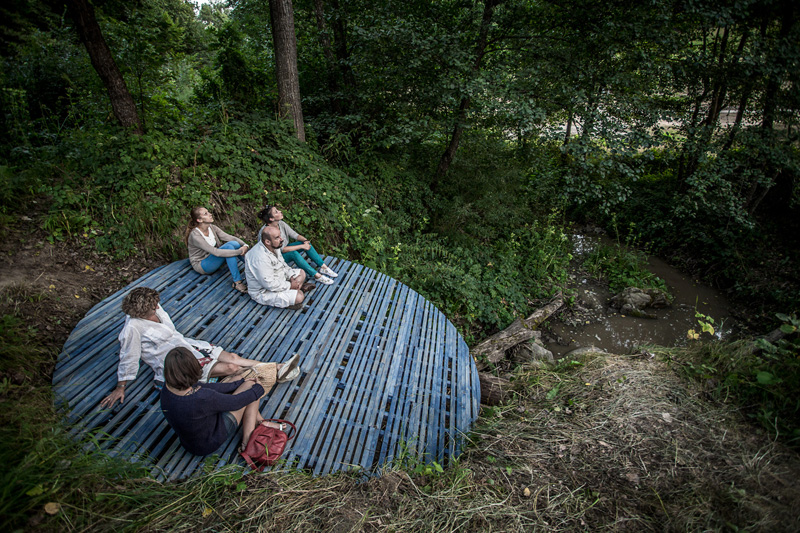 This Meditation Spot Is Surrounded By Forest In Transylvania