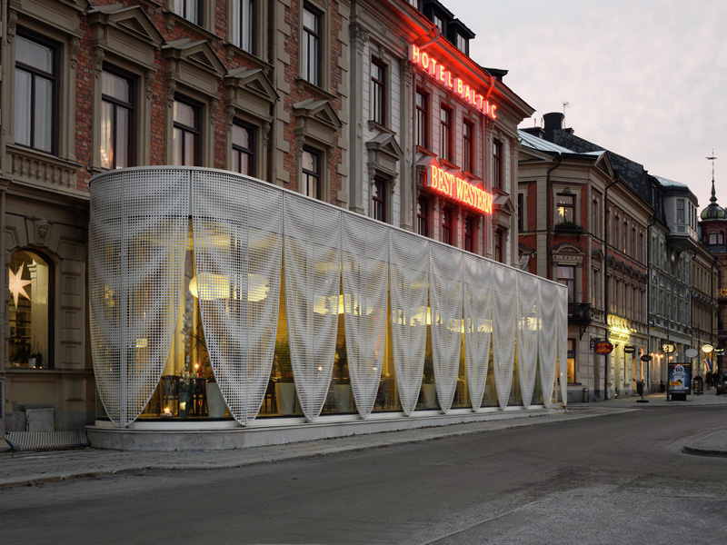 Pavilion for Best Western Hotel Baltic by The Common Office