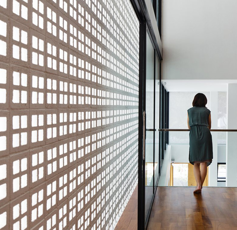 This House Lets Light In But Maintains Privacy With A