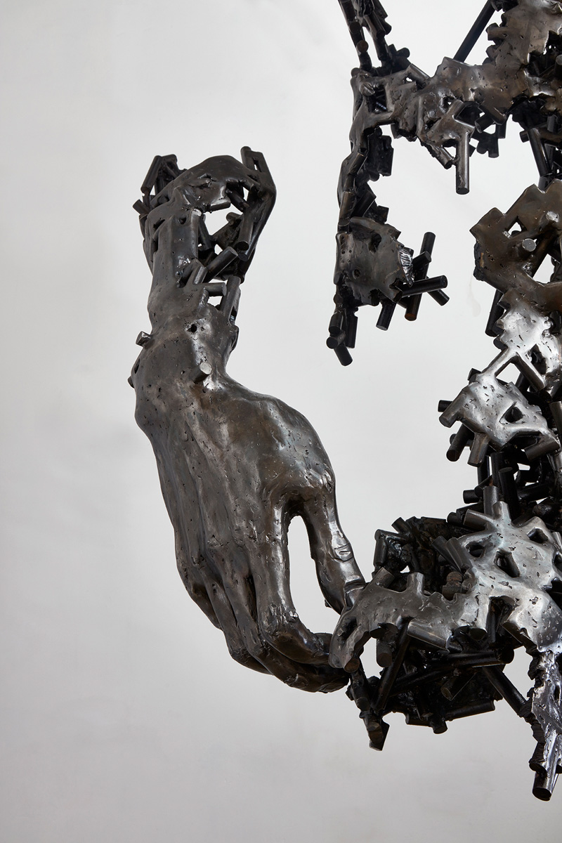 'I am just the pieces' by Regardt van der Meulen
