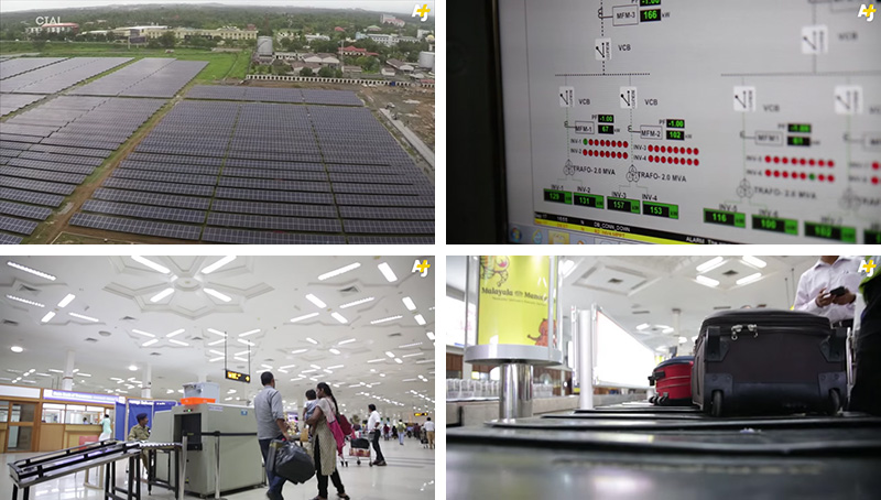 Cochin International Airport in Kochi, India