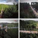 Look At This Amazing Video Of A New Suspension Bridge Being Built In Germany