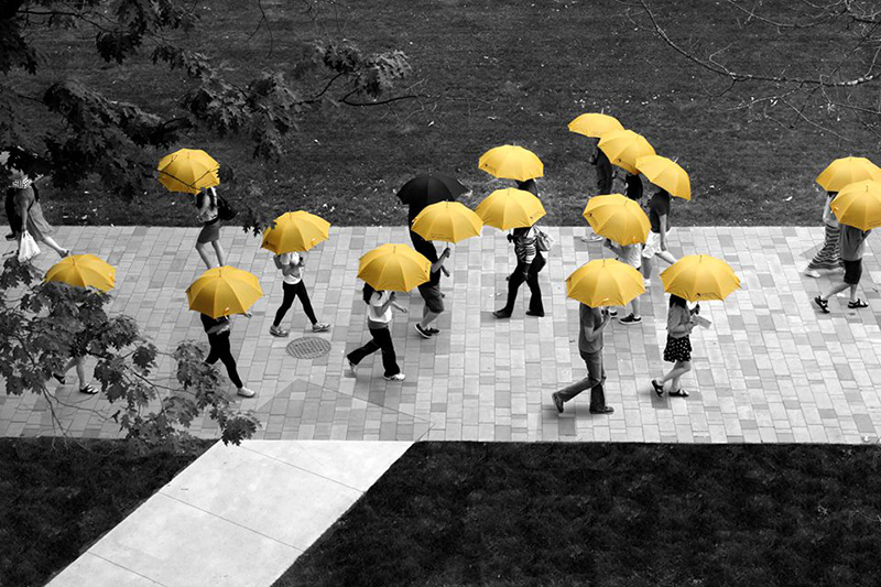 UmbraCity Lets You Borrow An Umbrella For Free At A Vancouver University
